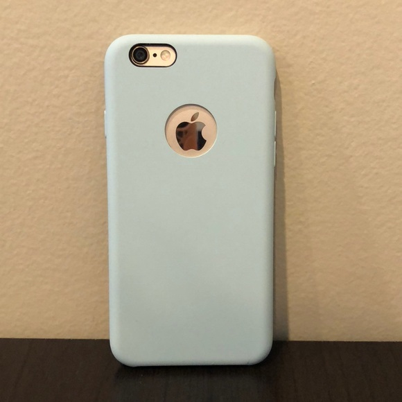 best cheap f1082 fe3f8 Baby blue iPhone 6/6s case!